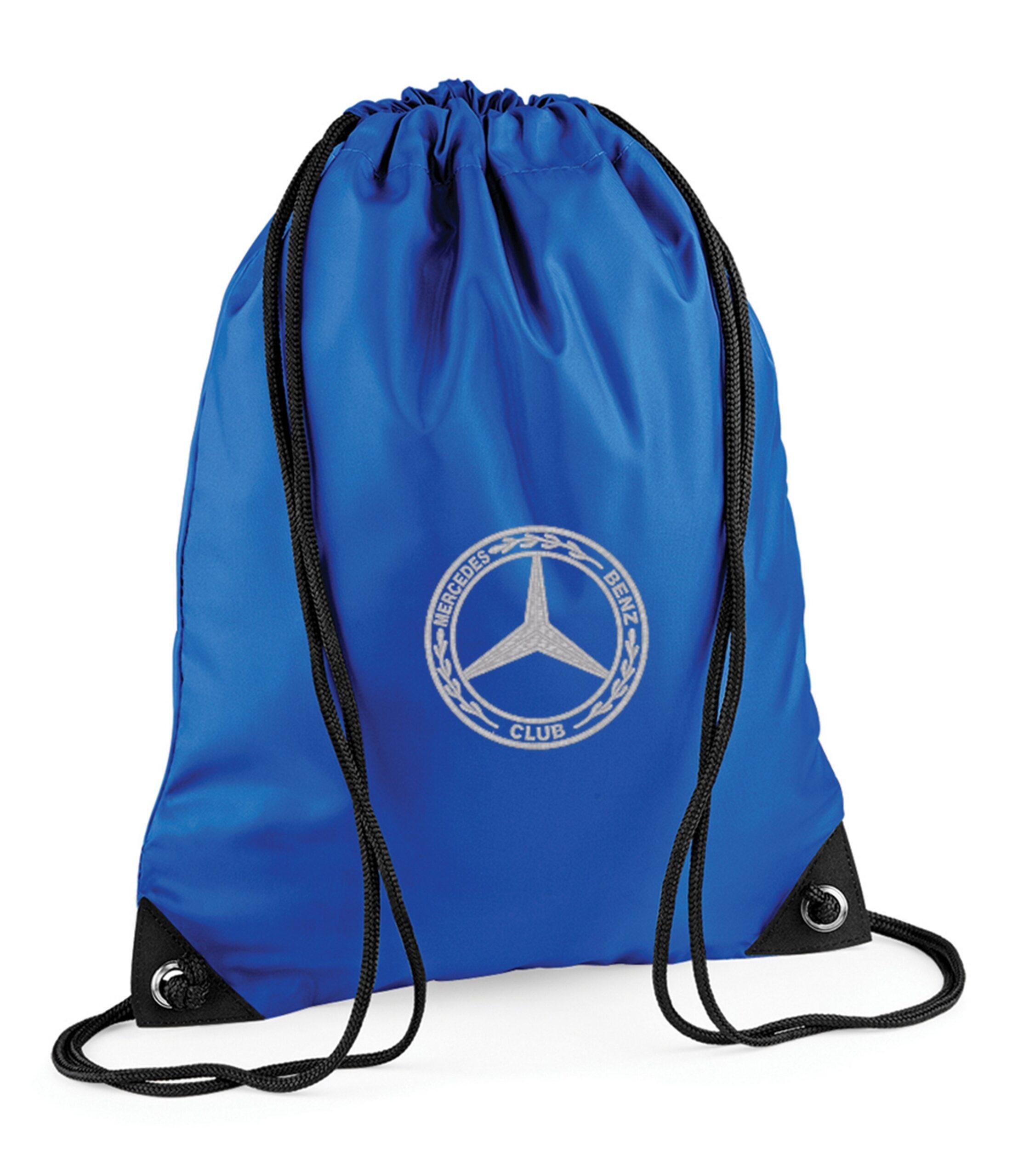 Mercedes Benz Gym Sac Blue