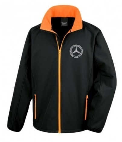 Mercedes-Benz Club Softshell Jacket Black