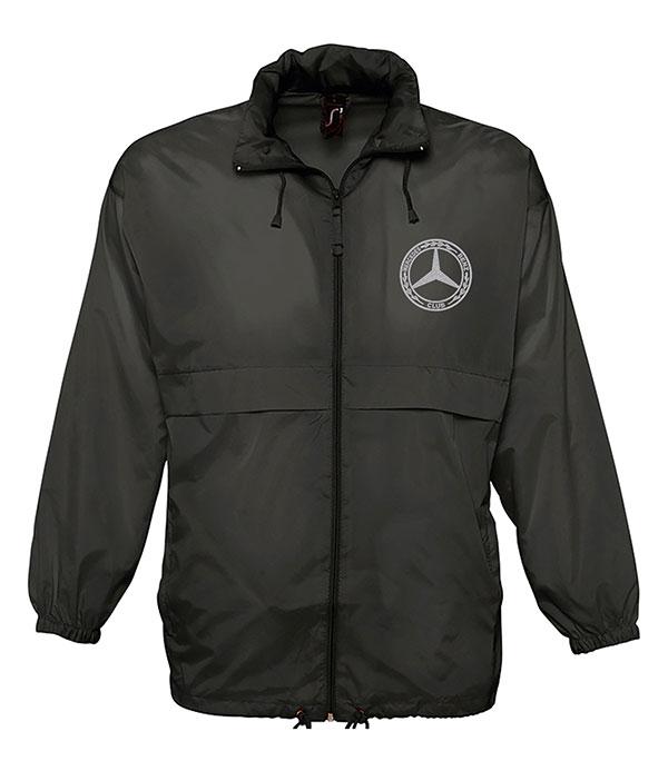 Mercedes-Benz Club Unisex Surf Windbreaker Jacket Black