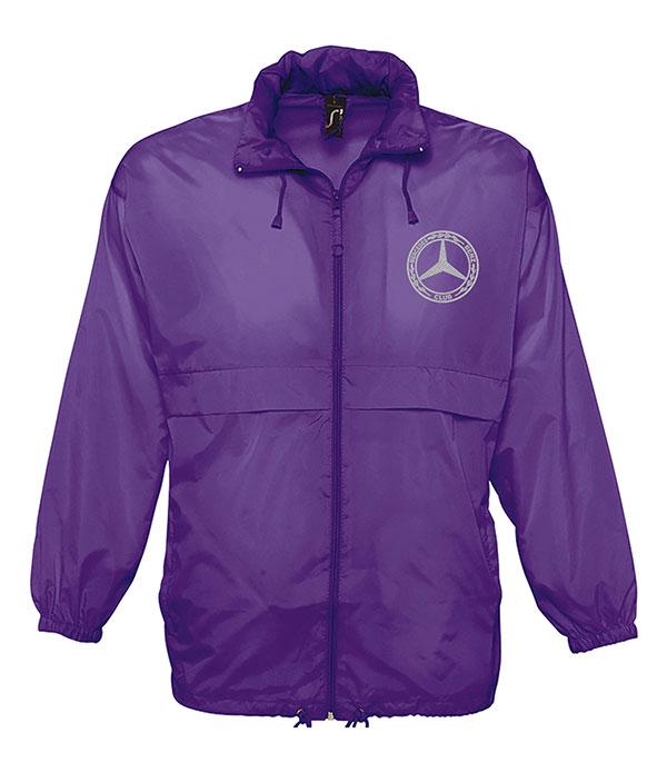 Mercedes-Benz Club Unisex Surf Windbreaker Jacket Purple