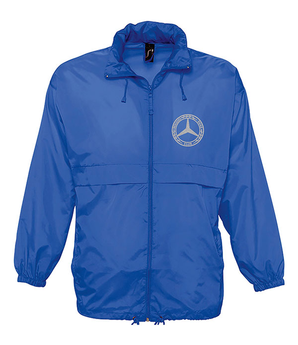 Mercedes-Benz Club Unisex Surf Windbreaker Jacket Blue