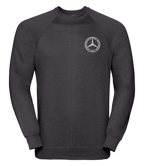 Mercedes-Benz Club Round Neck Sweatshirt Black