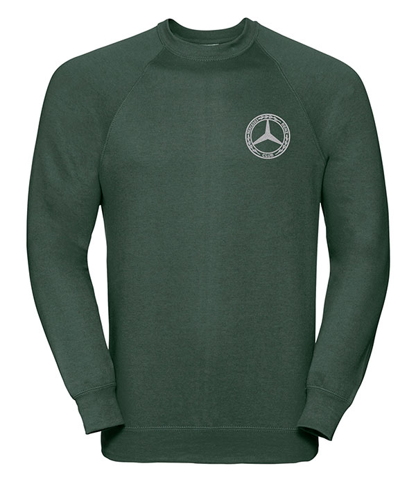 Mercedes-Benz Club Round Neck Sweatshirt Green