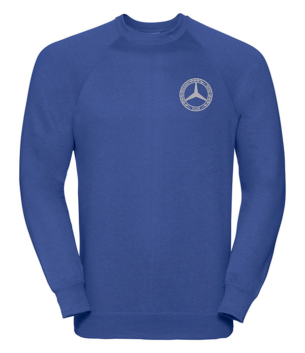 Mercedes-Benz Club Round Neck Sweatshirt Blue