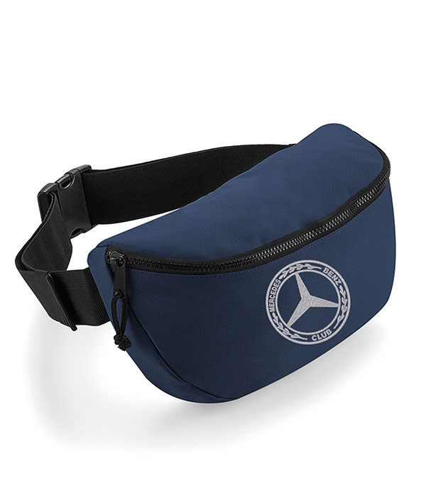 Mercedes-Benz Club Oversized Belt Bag Blue