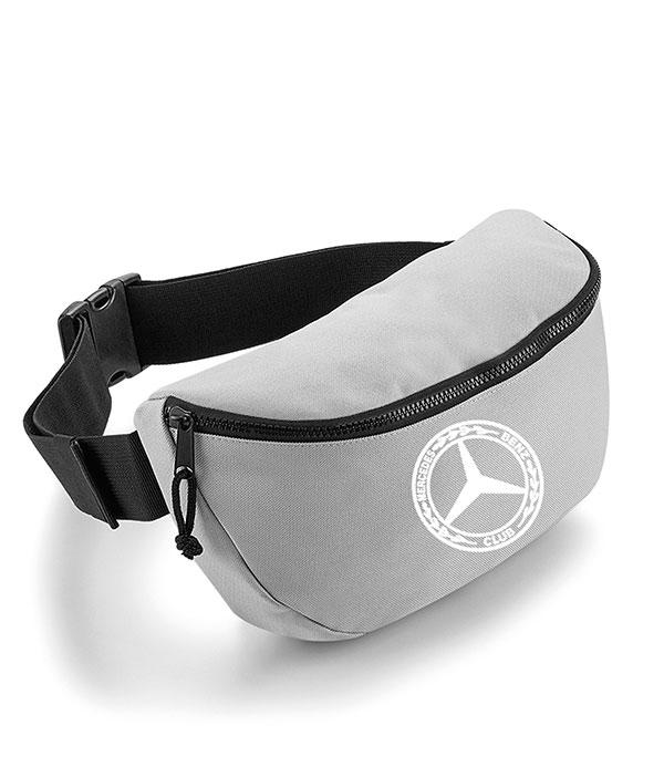Mercedes-Benz Club Oversized Belt Bag Grey