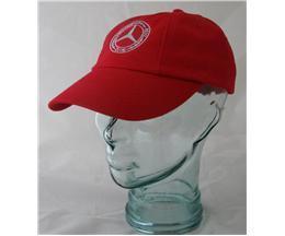 Mercedes-Benz Club Burgundy Cap Red