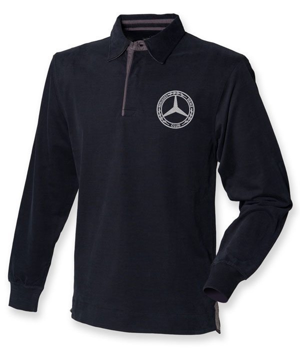 Mercedes-Benz Club Mens Long Sleeve Rugby Shirt