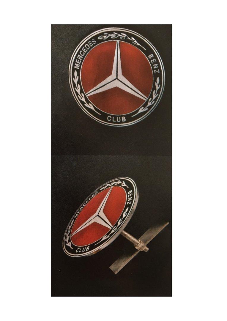 Mercedes-Benz Club Car Grille Badge