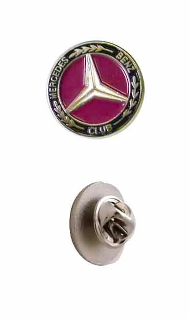 Mercedes-Benz Club Lapel Pin Badge