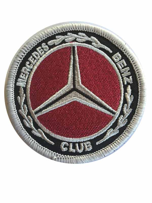 Mercedes-Benz Club Sew-on Club Badge
