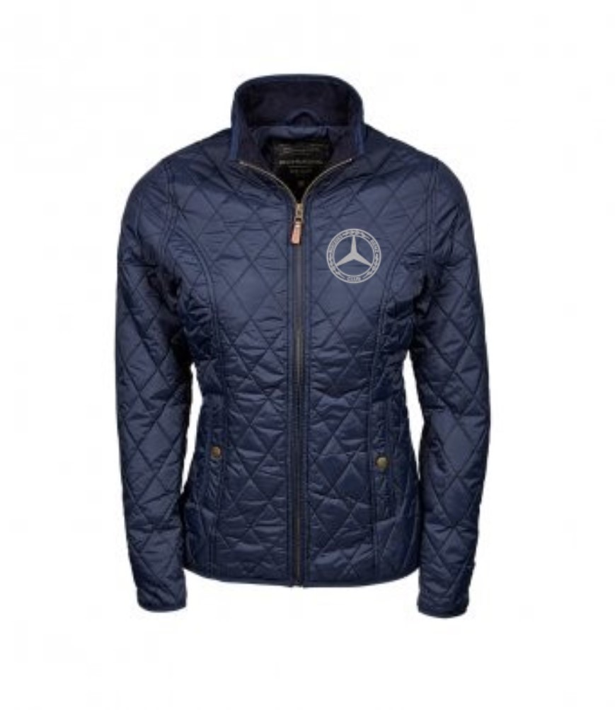 Mercedes-Benz Club Quilted Ladies Richmond Jacket Navy