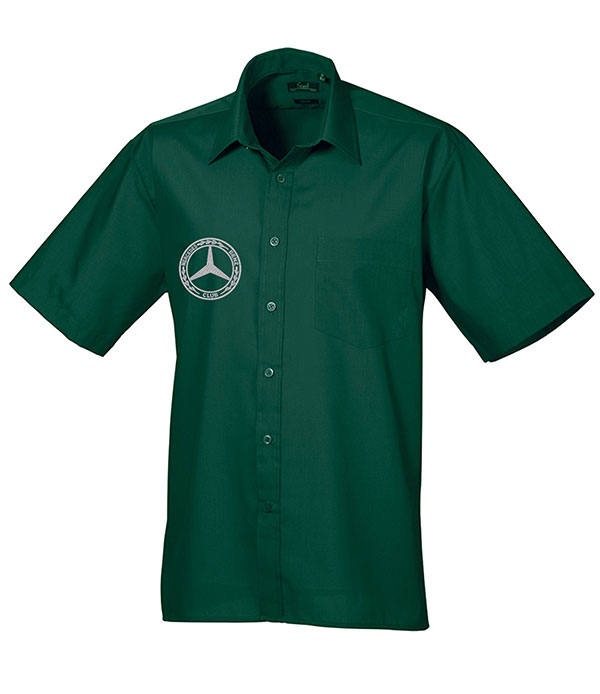 Mercedes-Benz Club Short Sleeve Poplin Shirt