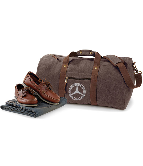 Mercedes-Benz Club Vintage Canvas Holdall