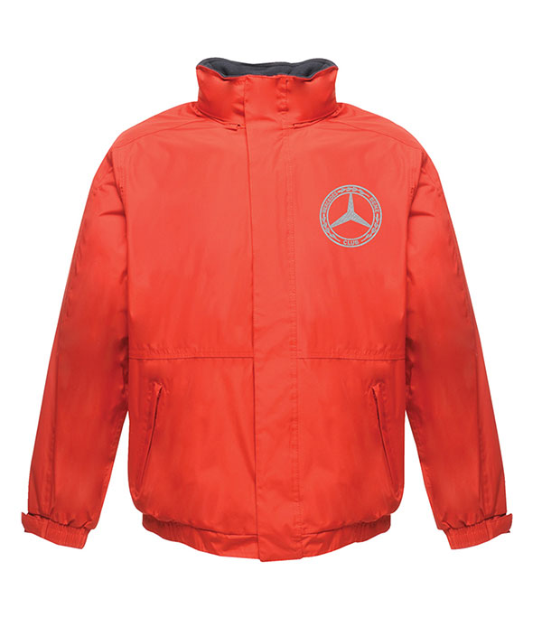 Mercedes-Benz Club Waterproof Insulated Jacket Red and Navy