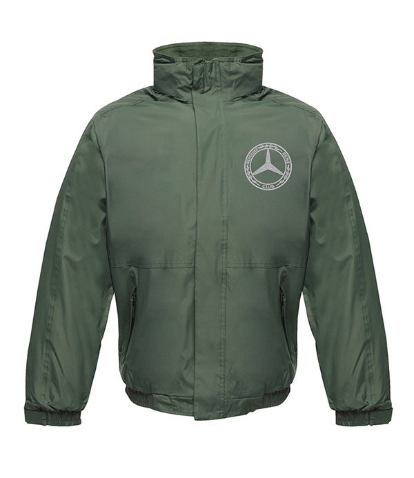 Mercedes-Benz Club Waterproof Insulated Jacket Green