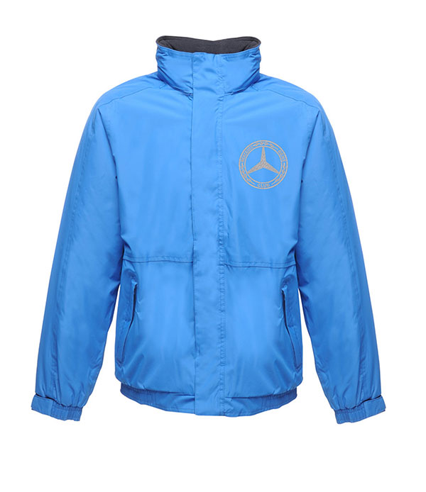 Mercedes-Benz Club Waterproof Insulated Jacket Oxford Blue and Navy