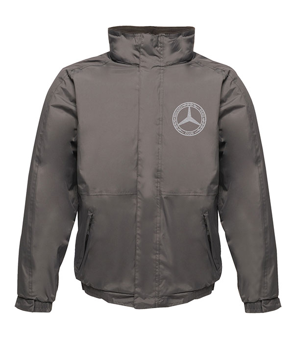 Mercedes-Benz Club Waterproof Insulated Jacket Grey and Black