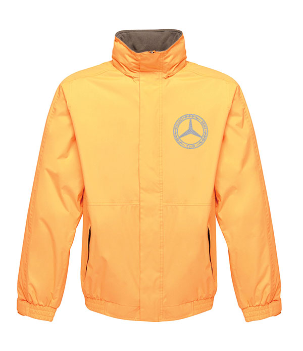 Mercedes-Benz Club Waterproof Insulated Jacket Orange