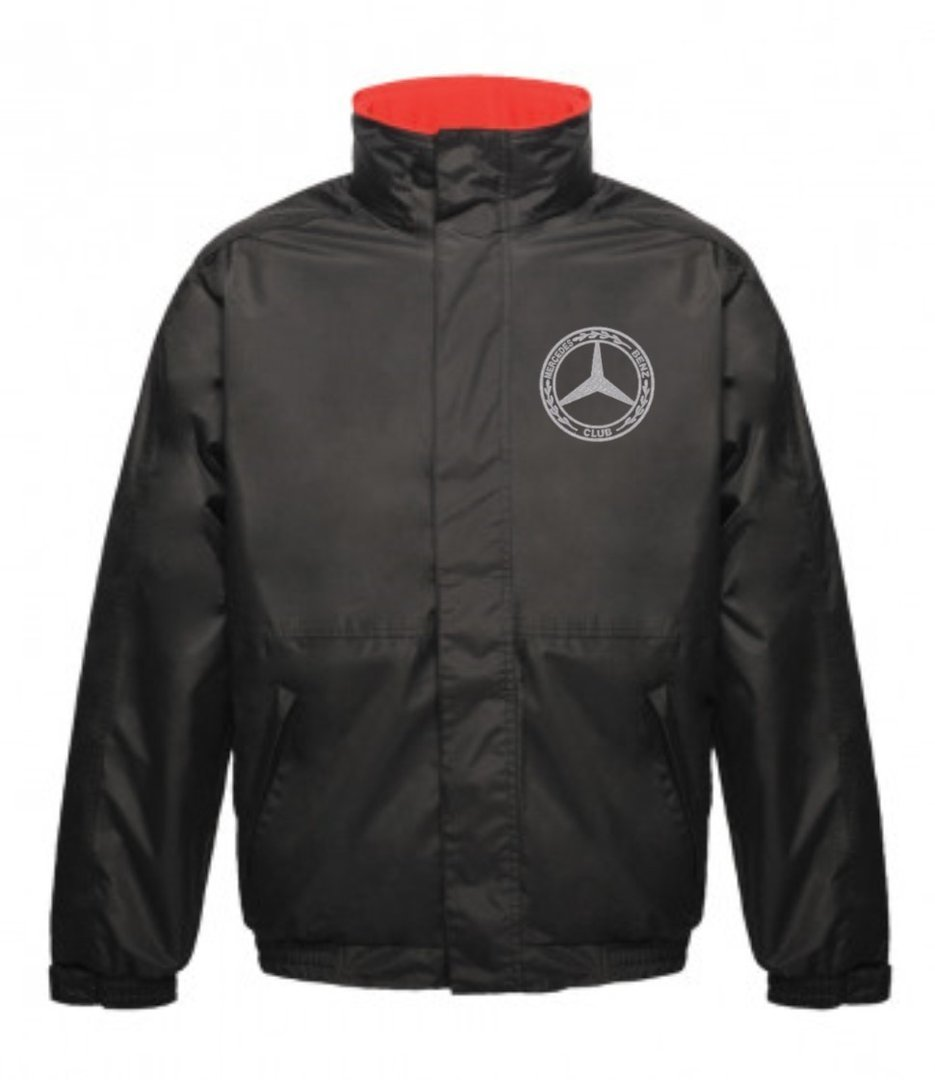 Mercedes-Benz Club Waterproof Insulated Jacket Black