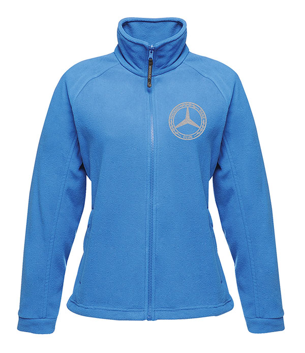 Mercedes-Benz Club Ladies Fleece Blue