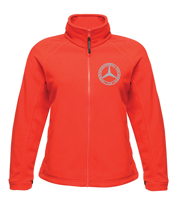Mercedes-Benz Club Ladies Fleece Red