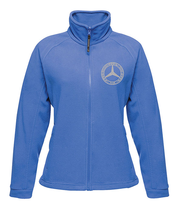 Mercedes-Benz Club Ladies Fleece Royal Light Blue