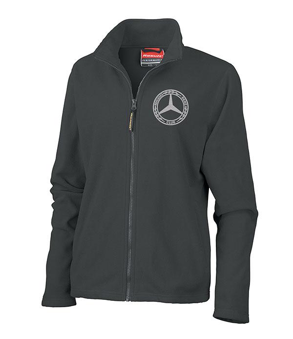 Mercedes-Benz Club Ladies Horizon High Grade Micro Fleece Jacket Black