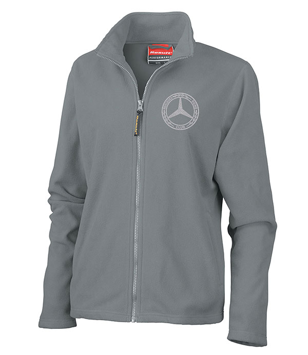 Mercedes-Benz Club Ladies Horizon High Grade Micro Fleece Jacket Grey