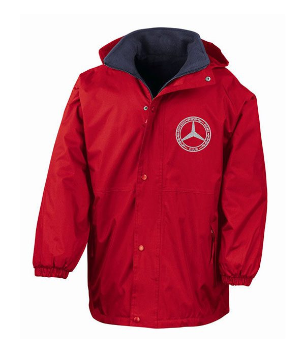 Mercedes-Benz Club Reversible Jacket With Fleece Red
