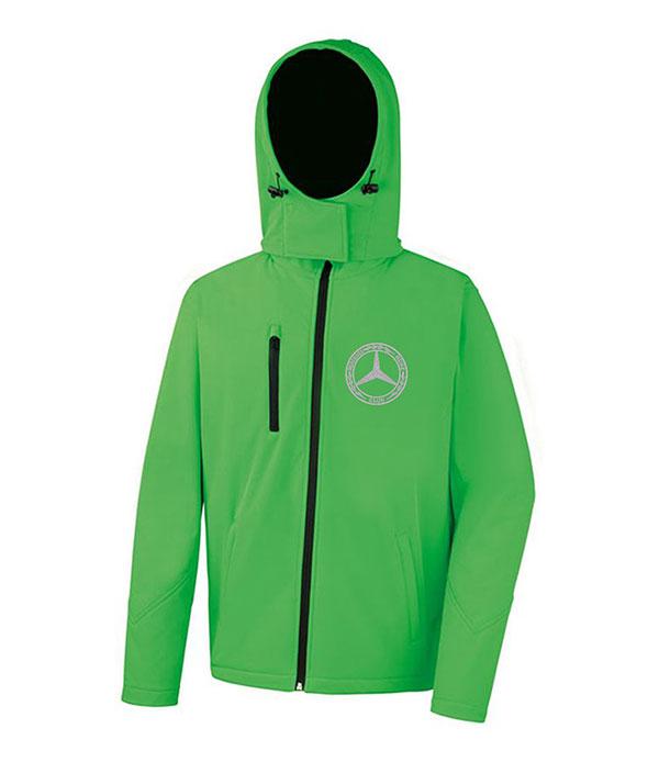 Mercedes-Benz Club Hooded Soft Shell Jacket Green
