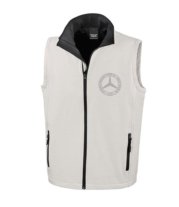 Mercedes-Benz Club Soft Shell Jacket Bodywarmer White