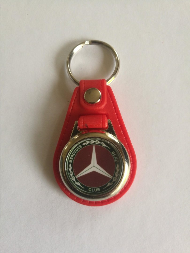 Mercedes Benz Club Oval Keyring