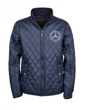 Mercedes-Benz Club Quilted Richmond Mens Jacket Blue