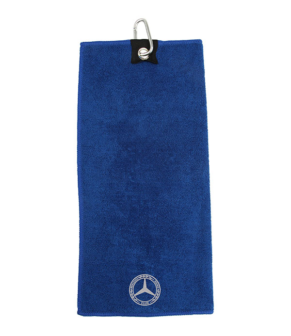 Mercedes-Benz Club Microfibre Golf Towel Blue