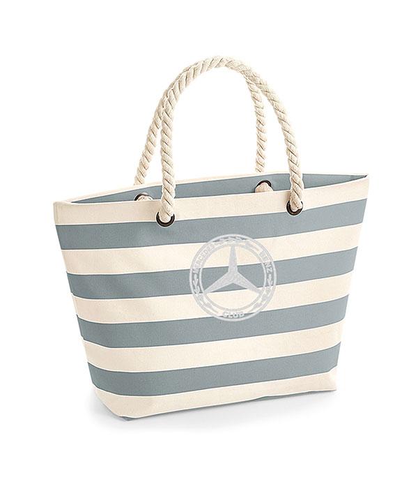 Mercedes-Benz Club Westfordmill Nautical Beach Bag Grey