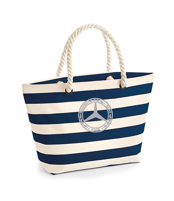 Mercedes-Benz Club Westfordmill Nautical Beach Bag Navy