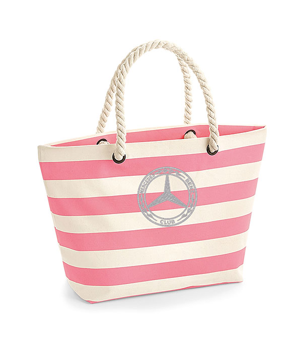 Mercedes-Benz Club Westfordmill Nautical Beach Bag Pink