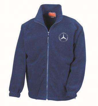 Mercedes-Benz Club Polartherm Fleece Jacket Blue