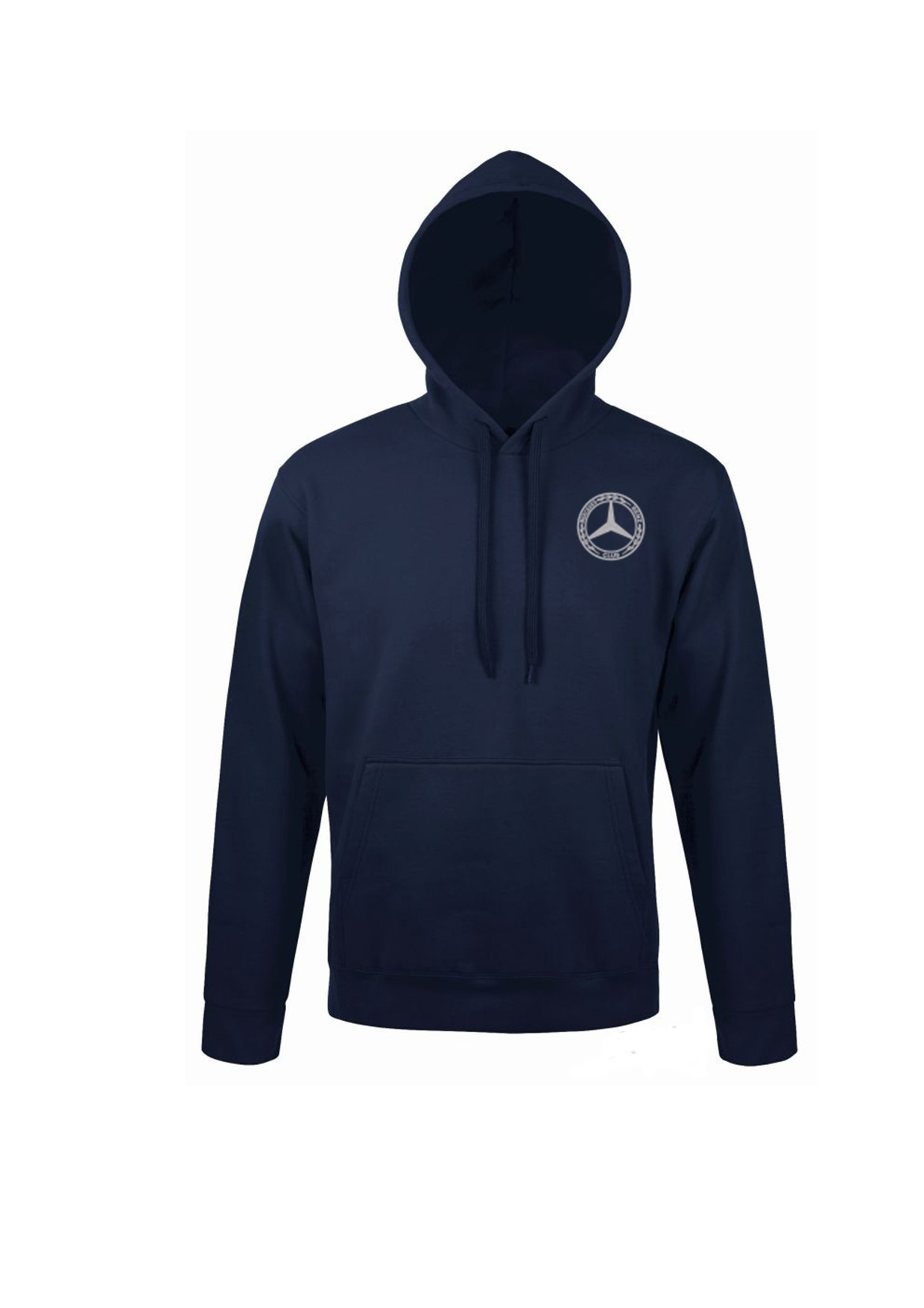 Mercedes-Benz Club Unisex Hooded Sweatshirt French Navy