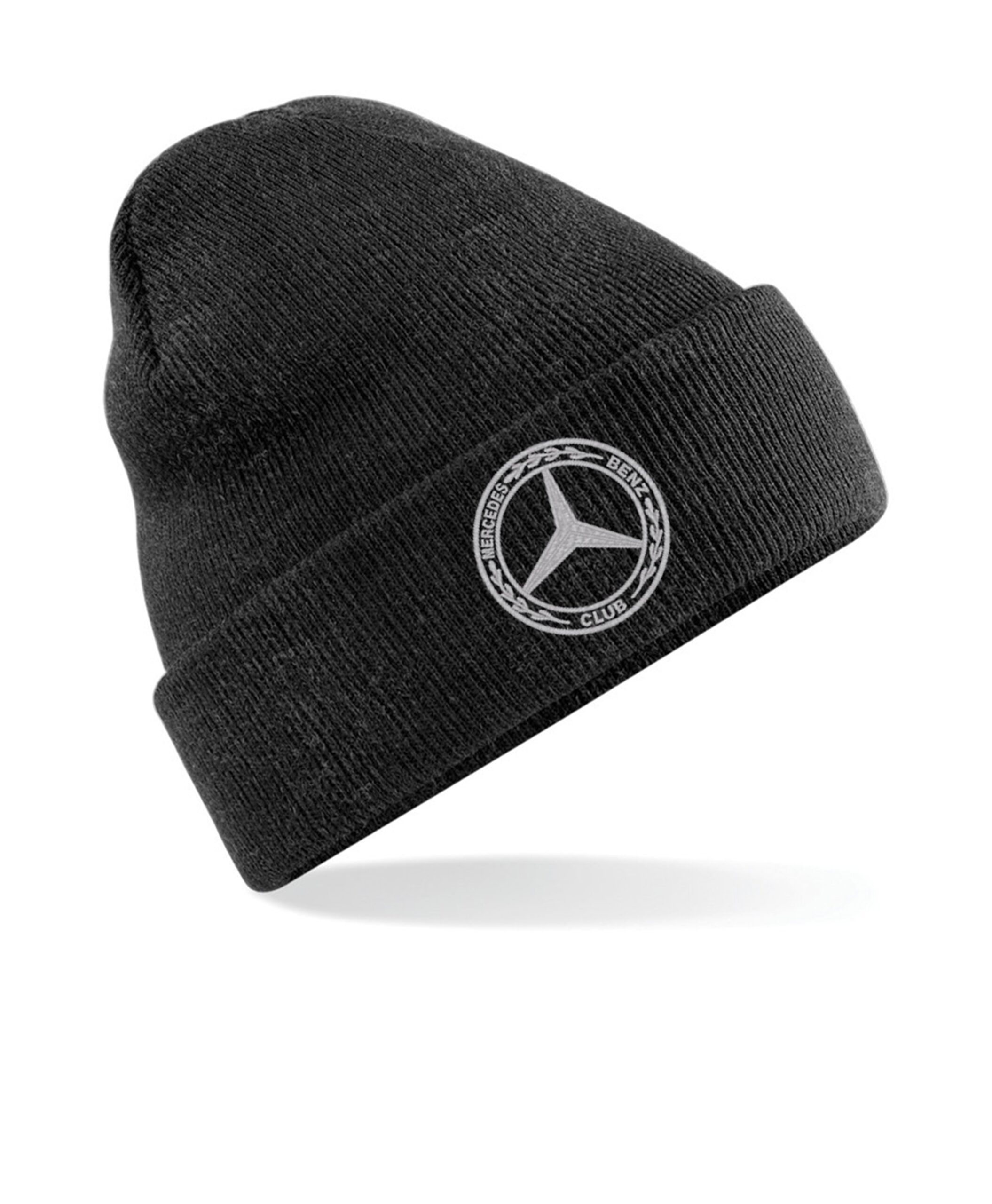 Mercedes-Benz Club Beanie Woolley Mens Womens Hat Charcoal