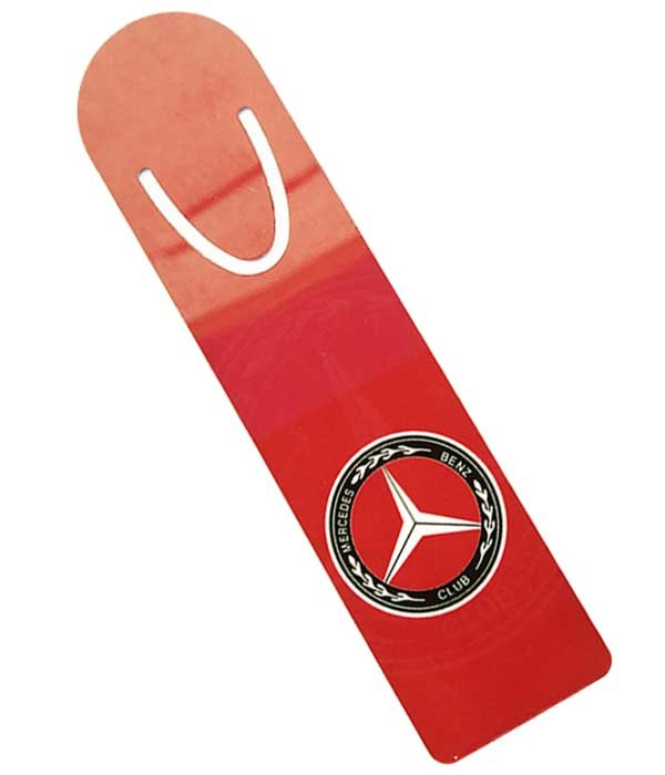 Mercedes-Benz Club Metal Bookmark