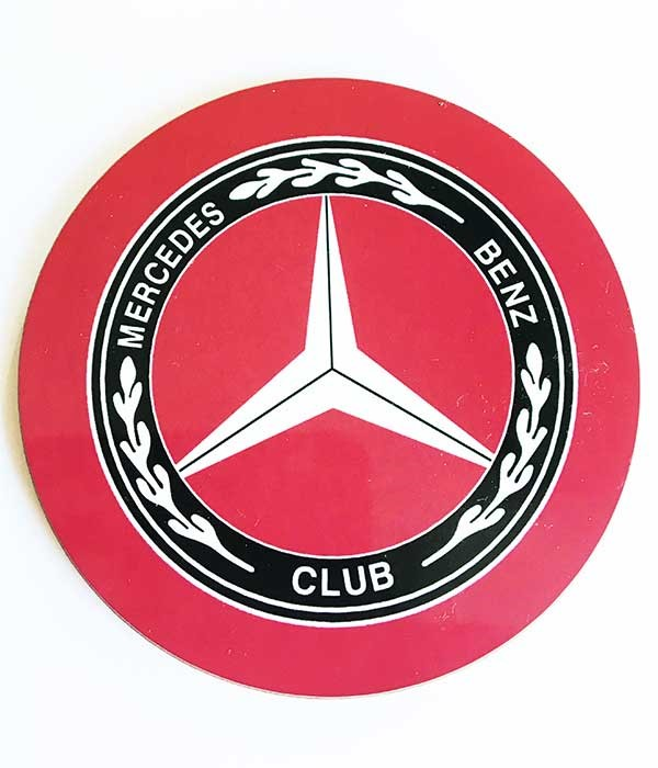 Mercedes-Benz Club Round Coaster
