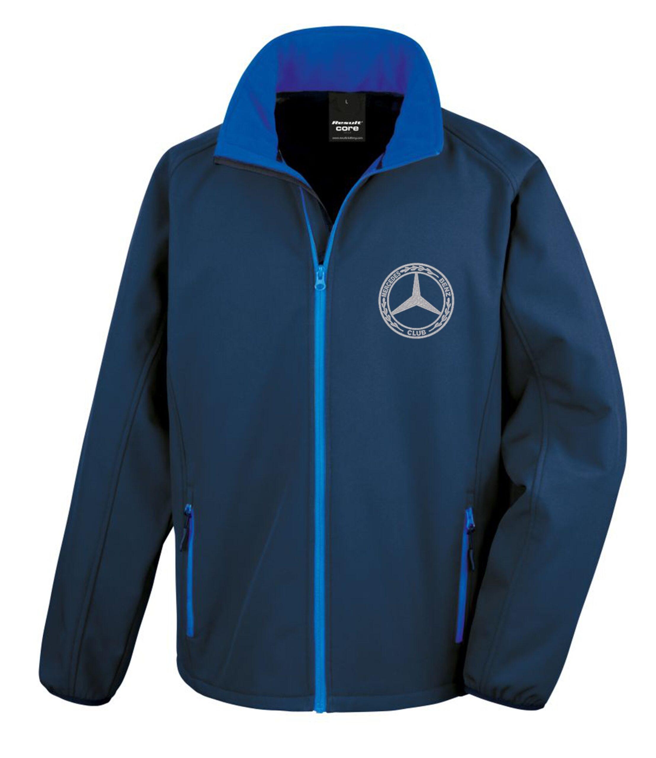 Mercedes-Benz Club Softshell Jacket Navy Royal