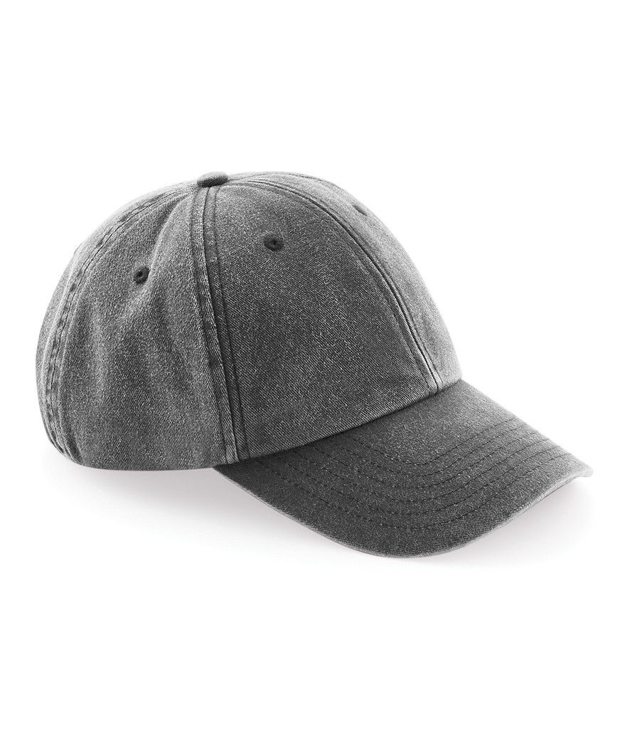 Mercedes-Benz Club Vintage Denim Cap Black