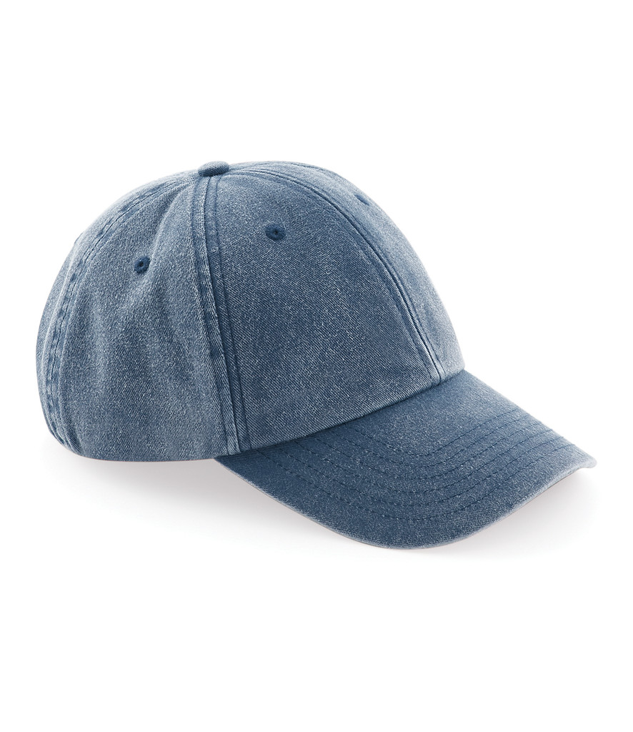 Mercedes-Benz Club Vintage Denim Cap Denim