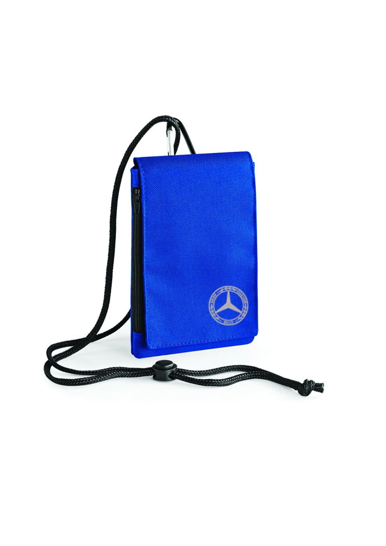 Mercedes Benz Club XL Phone Bag Royal Blue