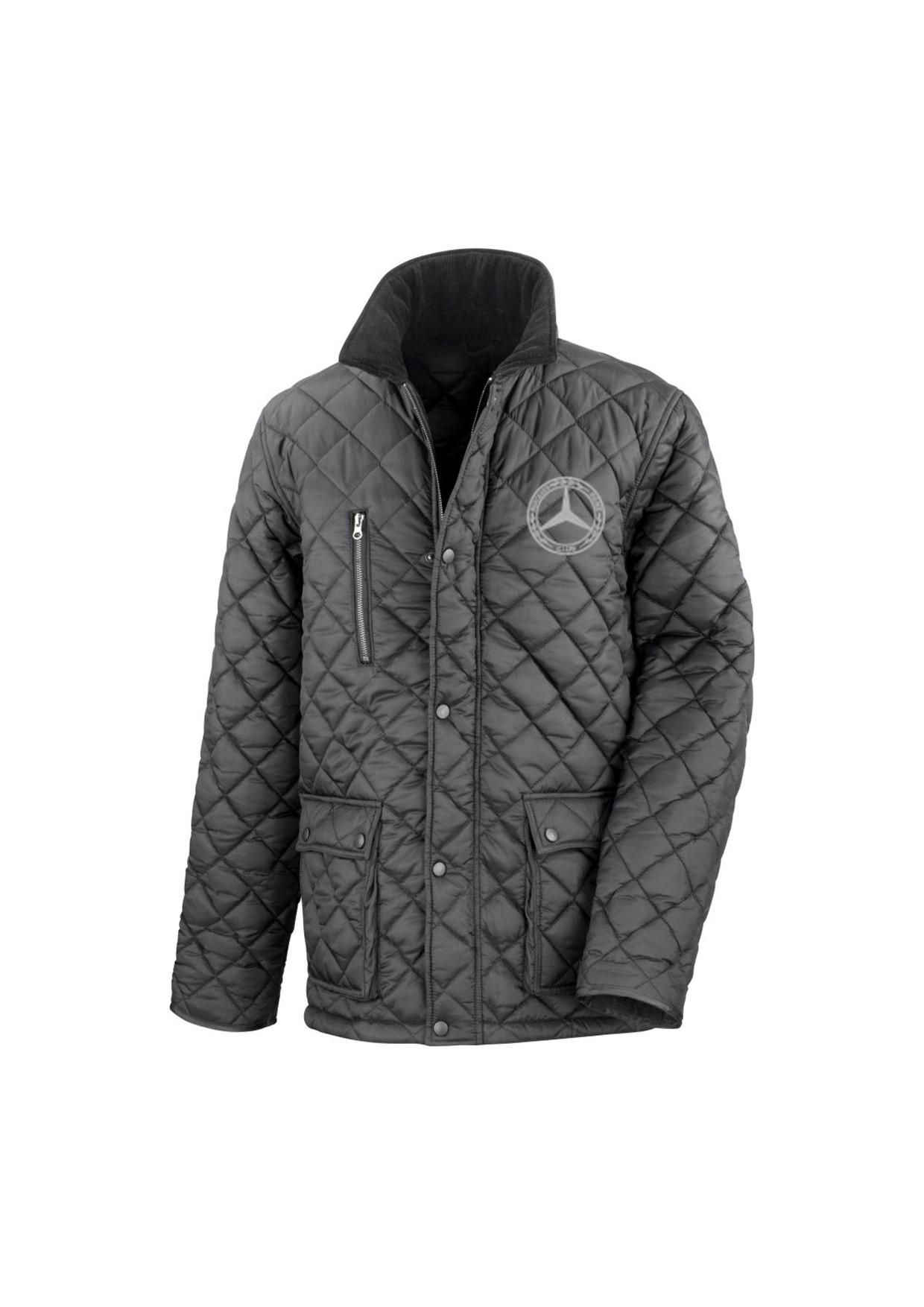 Mercedes-Benz Club Urban Quilted Jacket Black