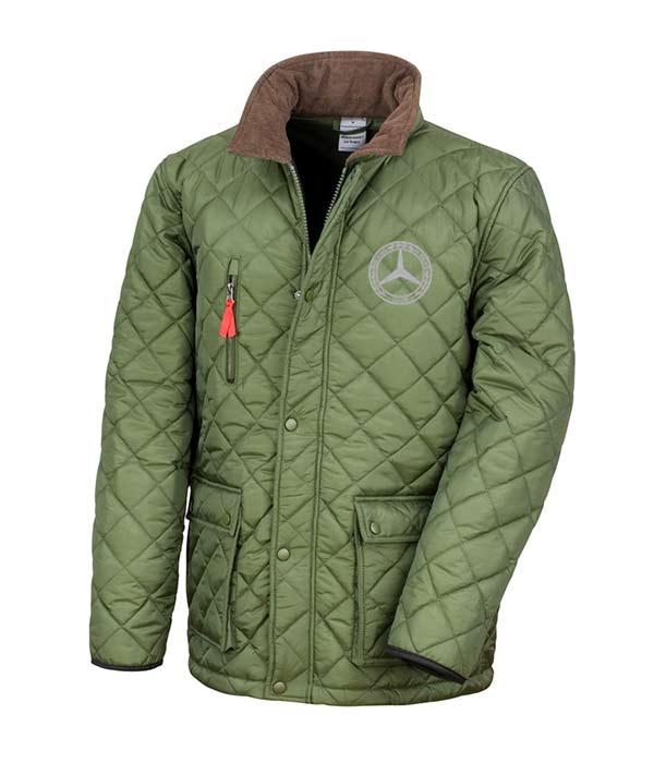 Mercedes-Benz Club Urban Quilted Jacket