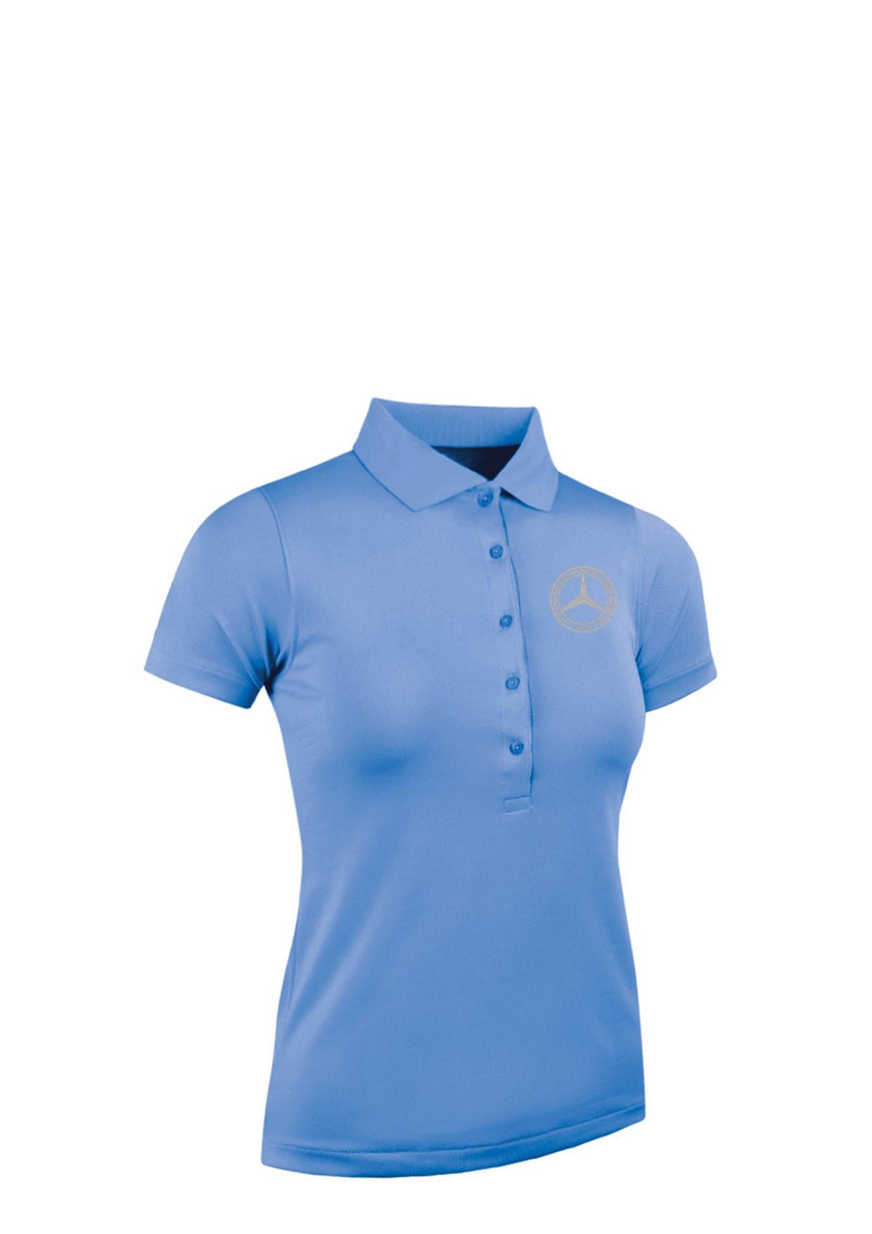 Mercedes-Benz Club Glenmuir Golf Ladies Pique Polo Shirt